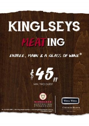 Kingsleys-meating